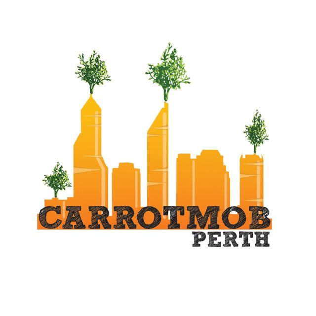 From the Carrotmob Facebook page - http://www.facebook.com/CarrotmobPerth