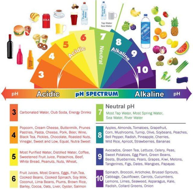 alkaline-acidic