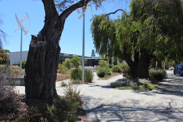 The gorgeous setting - The Grove library in Peppermint Grove.
